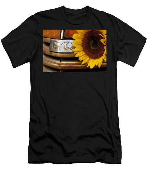 Gmc Sunflower Men's T-Shirt (Athletic Fit)