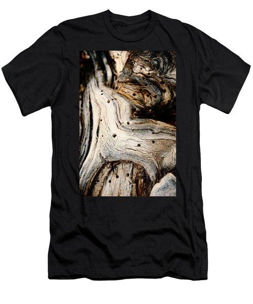 Gnarly Men's T-Shirt (Slim Fit) by Leanna Lomanski