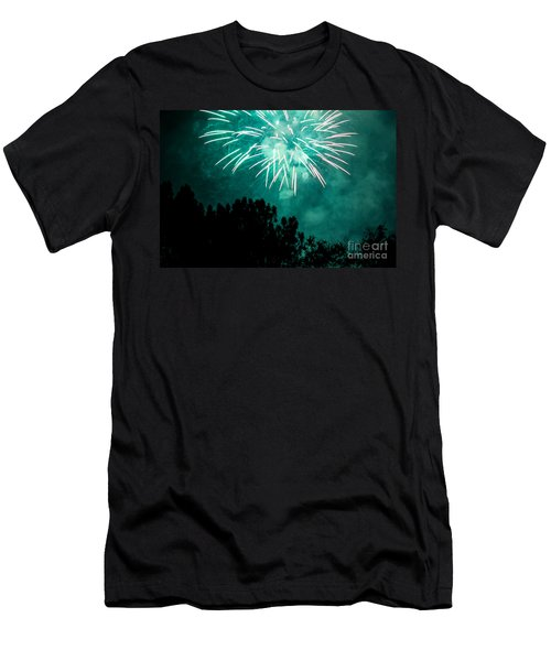 Men's T-Shirt (Slim Fit) featuring the photograph Go Green by Suzanne Luft