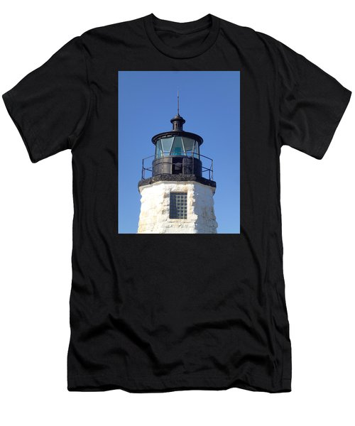 Goat Island Lighthouse Men's T-Shirt (Athletic Fit)