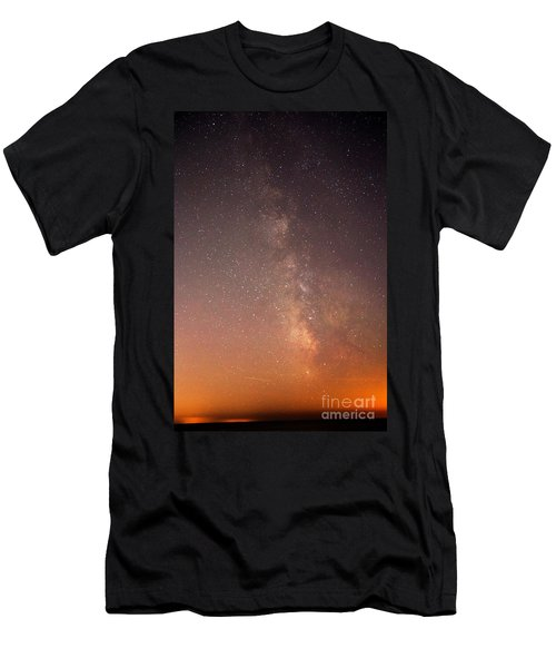Men's T-Shirt (Slim Fit) featuring the photograph God Did This by Robert Pearson