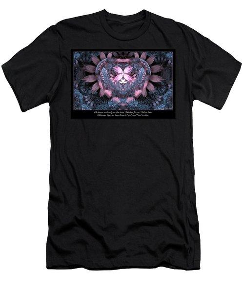 God Is Love Men's T-Shirt (Athletic Fit)