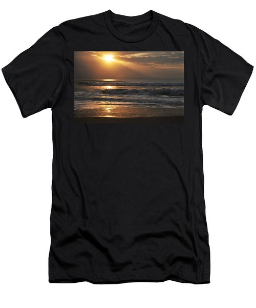God's Rays Men's T-Shirt (Athletic Fit)
