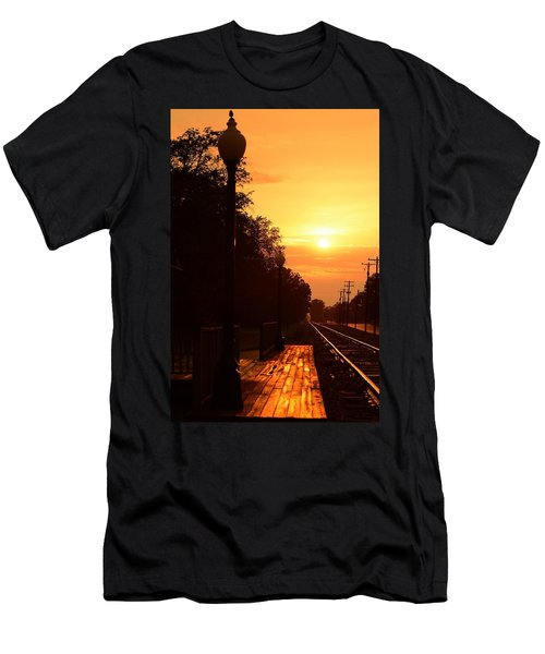Golden Age Of Rails Men's T-Shirt (Athletic Fit)