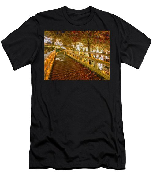 Golden Bridge Men's T-Shirt (Athletic Fit)