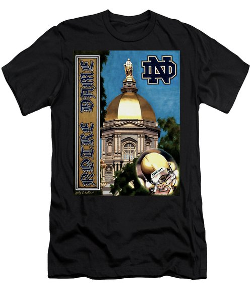 Golden Dome Men's T-Shirt (Athletic Fit)