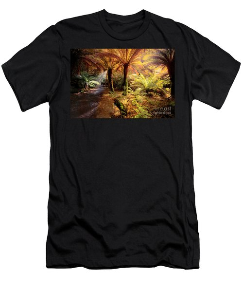 Golden Forest Men's T-Shirt (Athletic Fit)
