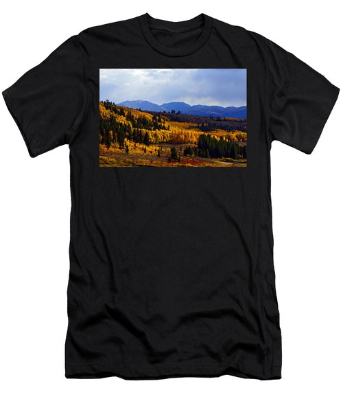 Golden Fourteeners Men's T-Shirt (Athletic Fit)