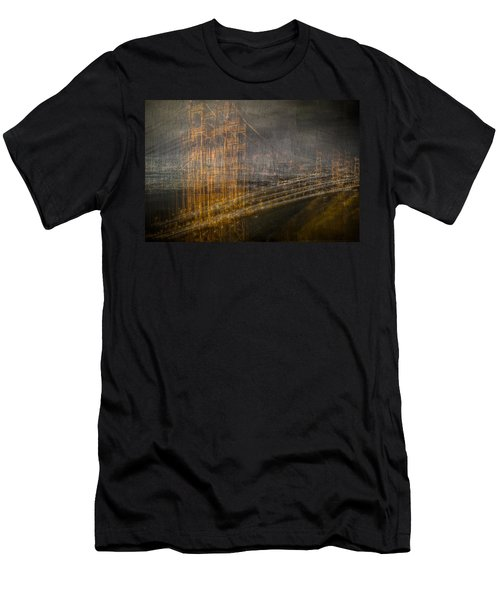 Golden Gate Chaos Men's T-Shirt (Athletic Fit)