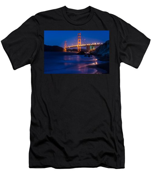 Golden Gate Glow Men's T-Shirt (Athletic Fit)
