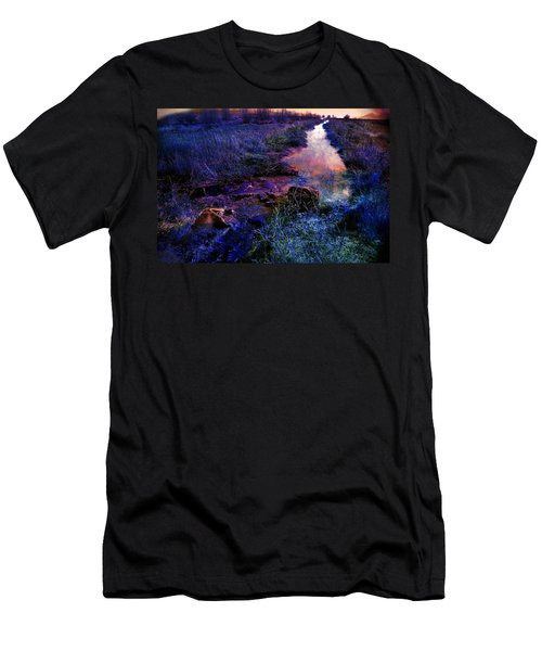 Men's T-Shirt (Athletic Fit) featuring the photograph Golden Hour by Gunter Nezhoda