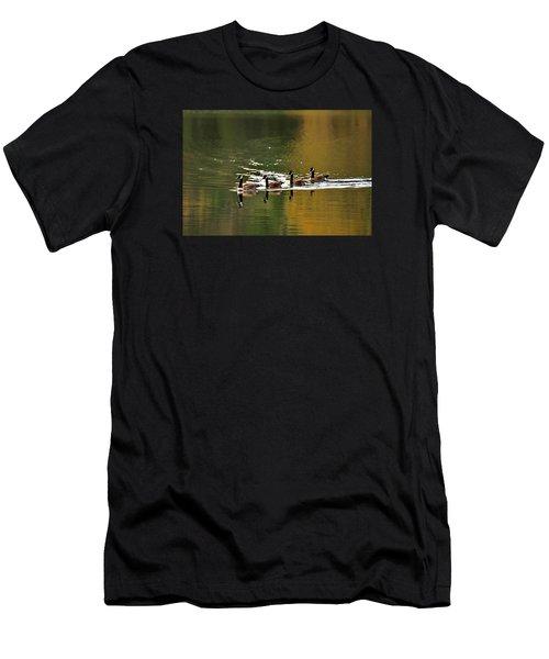 Golden Lake Men's T-Shirt (Athletic Fit)