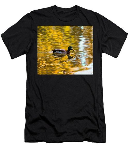 Golden   Leif Sohlman Men's T-Shirt (Athletic Fit)