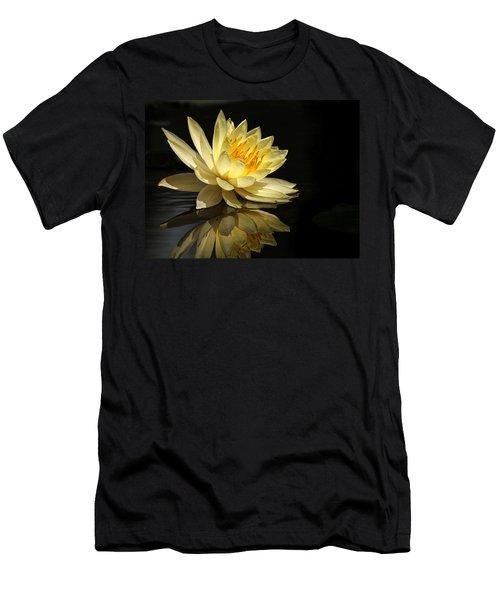 Golden Lotus Men's T-Shirt (Athletic Fit)