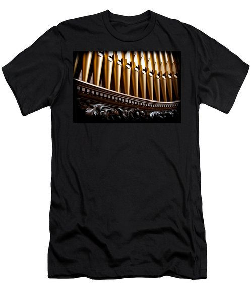 Golden Organ Pipes Men's T-Shirt (Athletic Fit)