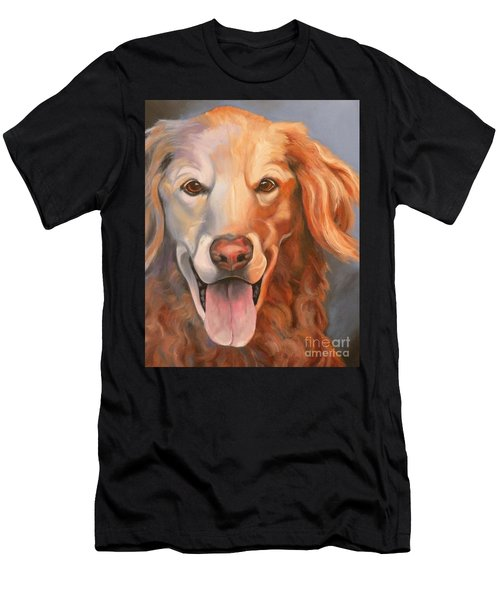Golden Retriever Till There Was You Men's T-Shirt (Athletic Fit)