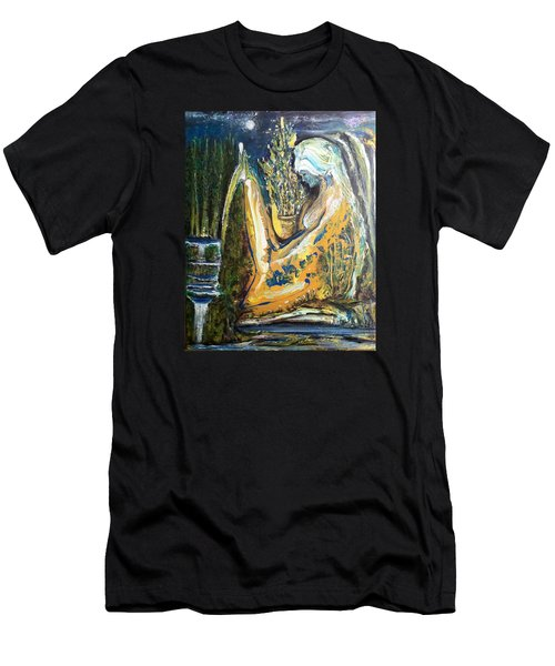 Golden Serenities Men's T-Shirt (Slim Fit) by Kicking Bear  Productions