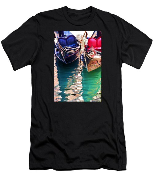 Gondola Love Men's T-Shirt (Slim Fit) by Brian Davis