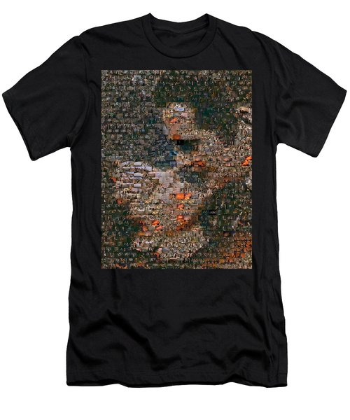 Gone With The Wind Scene Mosaic Men's T-Shirt (Athletic Fit)