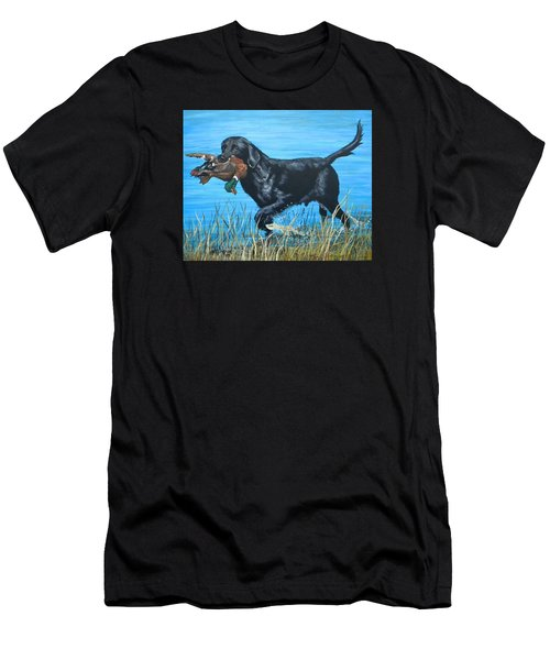 Good Dog Men's T-Shirt (Athletic Fit)