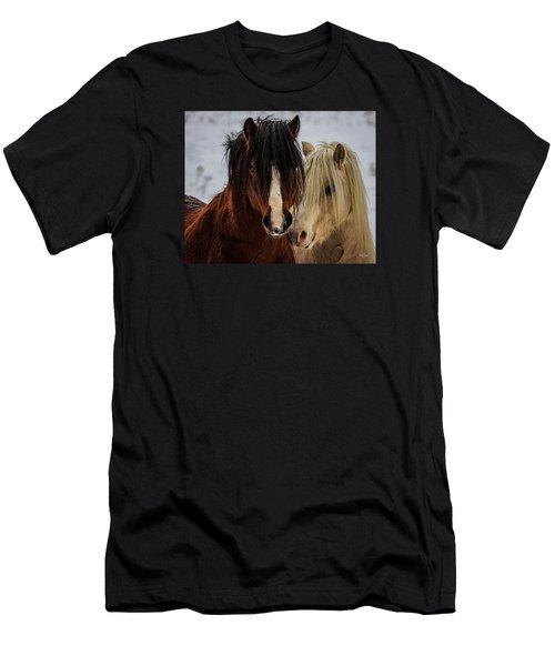 Good Friends Men's T-Shirt (Slim Fit) by Everet Regal