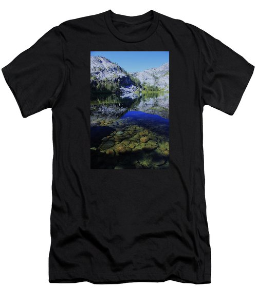 Men's T-Shirt (Athletic Fit) featuring the photograph Good Morning Eagle Lake by Sean Sarsfield