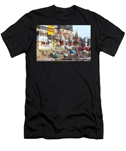 Good Morning Ganga Ji 2 Men's T-Shirt (Athletic Fit)