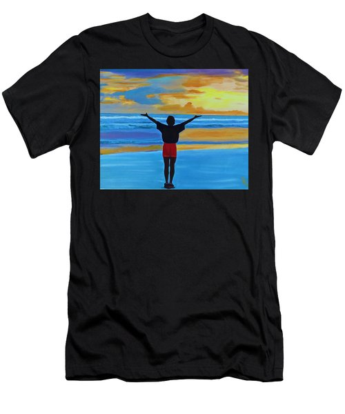 Good Morning Morning Men's T-Shirt (Athletic Fit)
