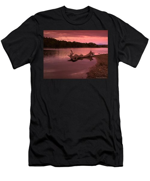 Good Morning Sacramento River Men's T-Shirt (Slim Fit) by Joyce Dickens