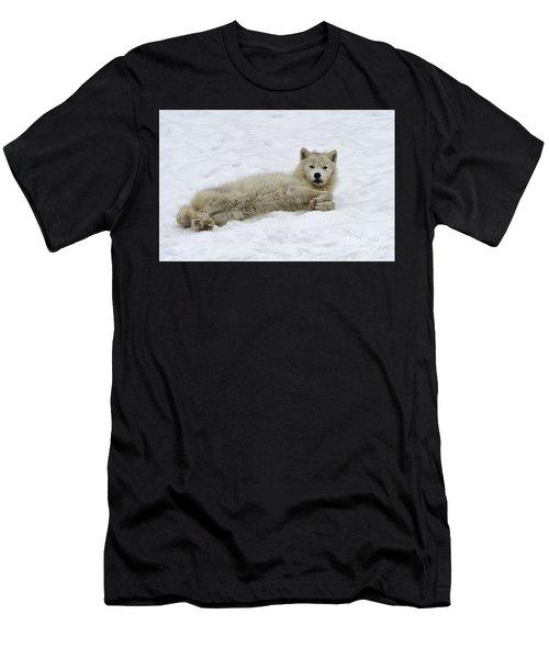 Good Wolfie ... Men's T-Shirt (Athletic Fit)