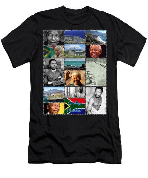Goodbye Madiba Men's T-Shirt (Athletic Fit)