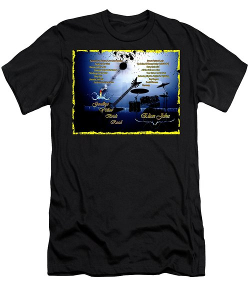 Goodbye Yellow Brick Road Men's T-Shirt (Slim Fit) by Michael Damiani
