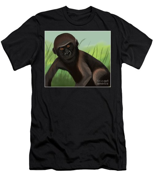 Gorilla Greatness Men's T-Shirt (Athletic Fit)