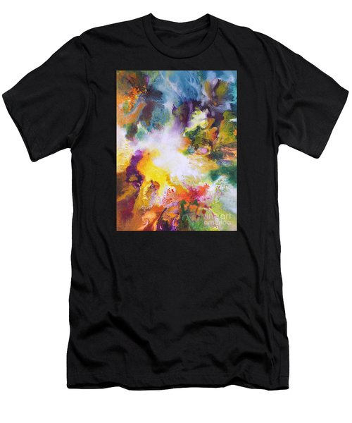 Gossamer Men's T-Shirt (Slim Fit) by Sally Trace