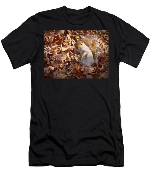 Men's T-Shirt (Slim Fit) featuring the photograph Got Nuts by Joseph Skompski