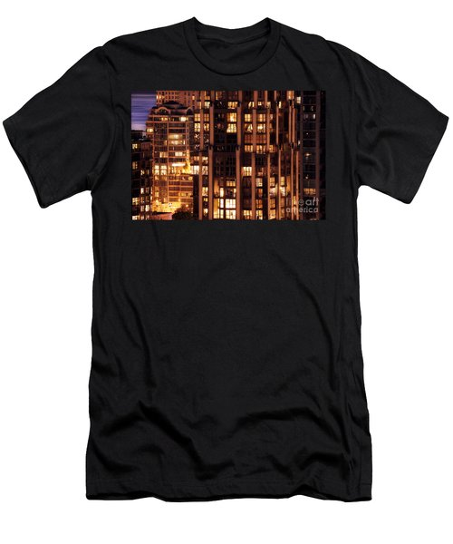 Men's T-Shirt (Slim Fit) featuring the photograph Gothic Living - Yaletown Ccclxxx by Amyn Nasser