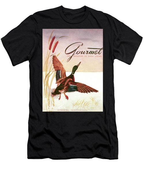 Gourmet Cover Of A Goose Men's T-Shirt (Athletic Fit)