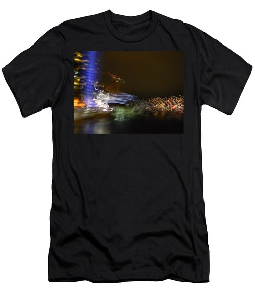 G.r. Grand River Dazzling Lights Men's T-Shirt (Athletic Fit)