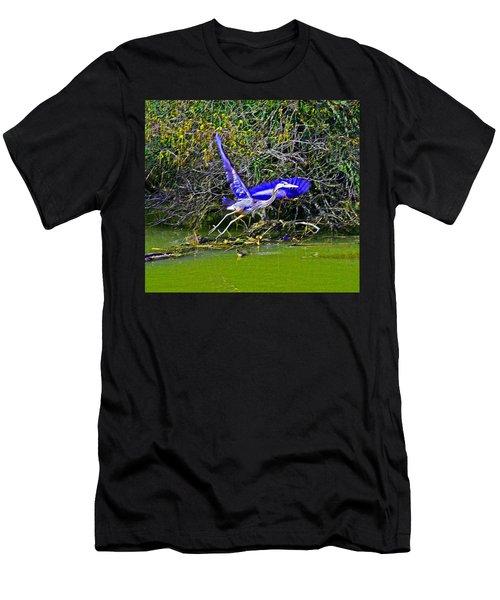 Gr8 Heron Flight Men's T-Shirt (Athletic Fit)