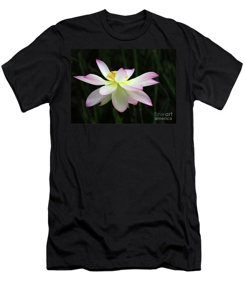 Graceful Lotus Men's T-Shirt (Athletic Fit)