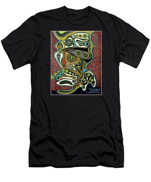 Grain De Folie.. Men's T-Shirt (Slim Fit) by Jolanta Anna Karolska