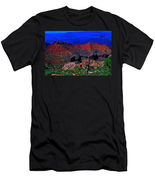 Grand Canyon Beauty Exposed Men's T-Shirt (Athletic Fit)