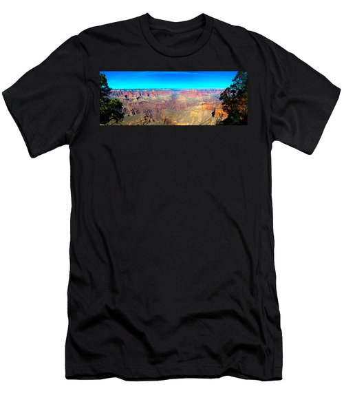 Grand Canyon Panorama Men's T-Shirt (Athletic Fit)