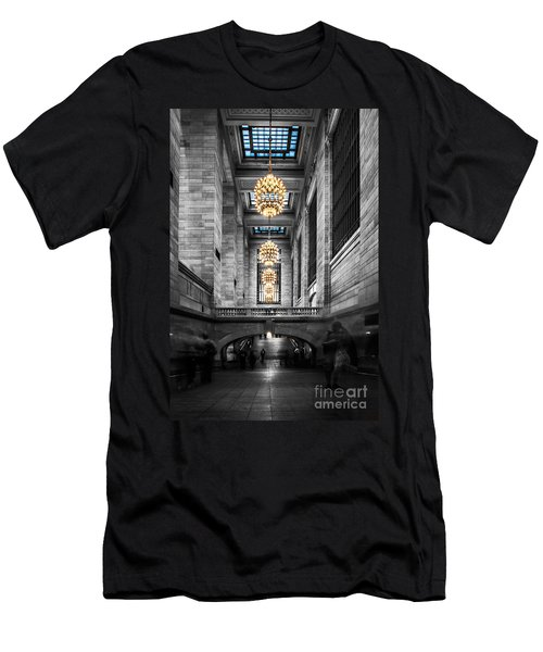 Grand Central Station IIi Ck Men's T-Shirt (Athletic Fit)