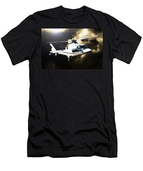 Grand Flying Men's T-Shirt (Slim Fit) by Paul Job