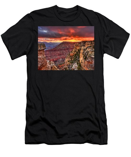 Grand Sunrise Men's T-Shirt (Athletic Fit)
