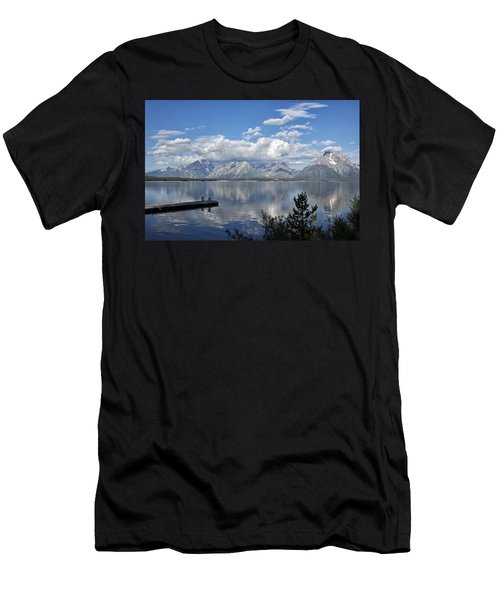 Grand Tetons In The Morning Light Men's T-Shirt (Athletic Fit)