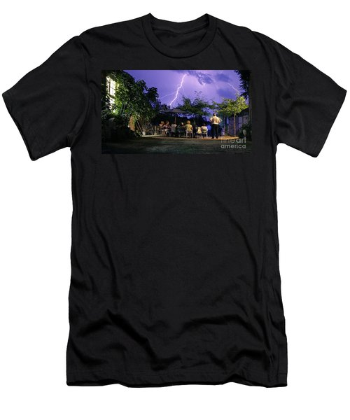 Grand Theatre Of Nature Men's T-Shirt (Athletic Fit)