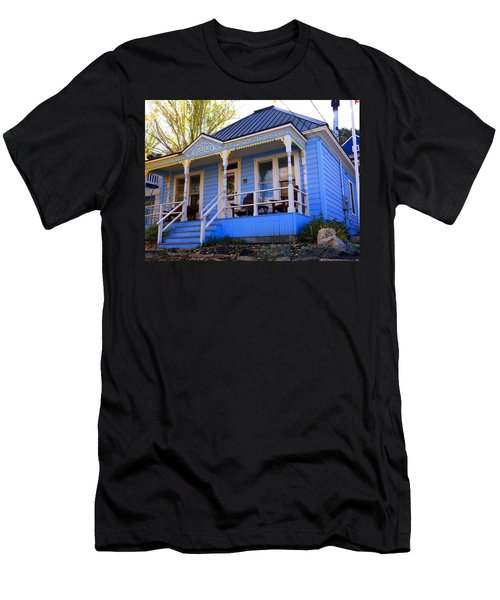 Men's T-Shirt (Slim Fit) featuring the photograph Grandma's House by Jackie Carpenter