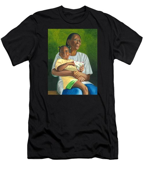 Grandma's Lap Men's T-Shirt (Athletic Fit)